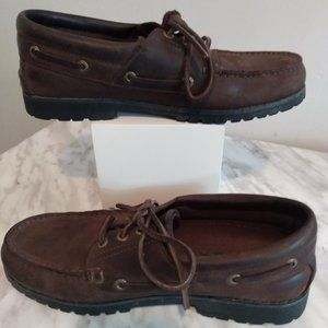 Wolverine size 9 brown leather loafer shoes
